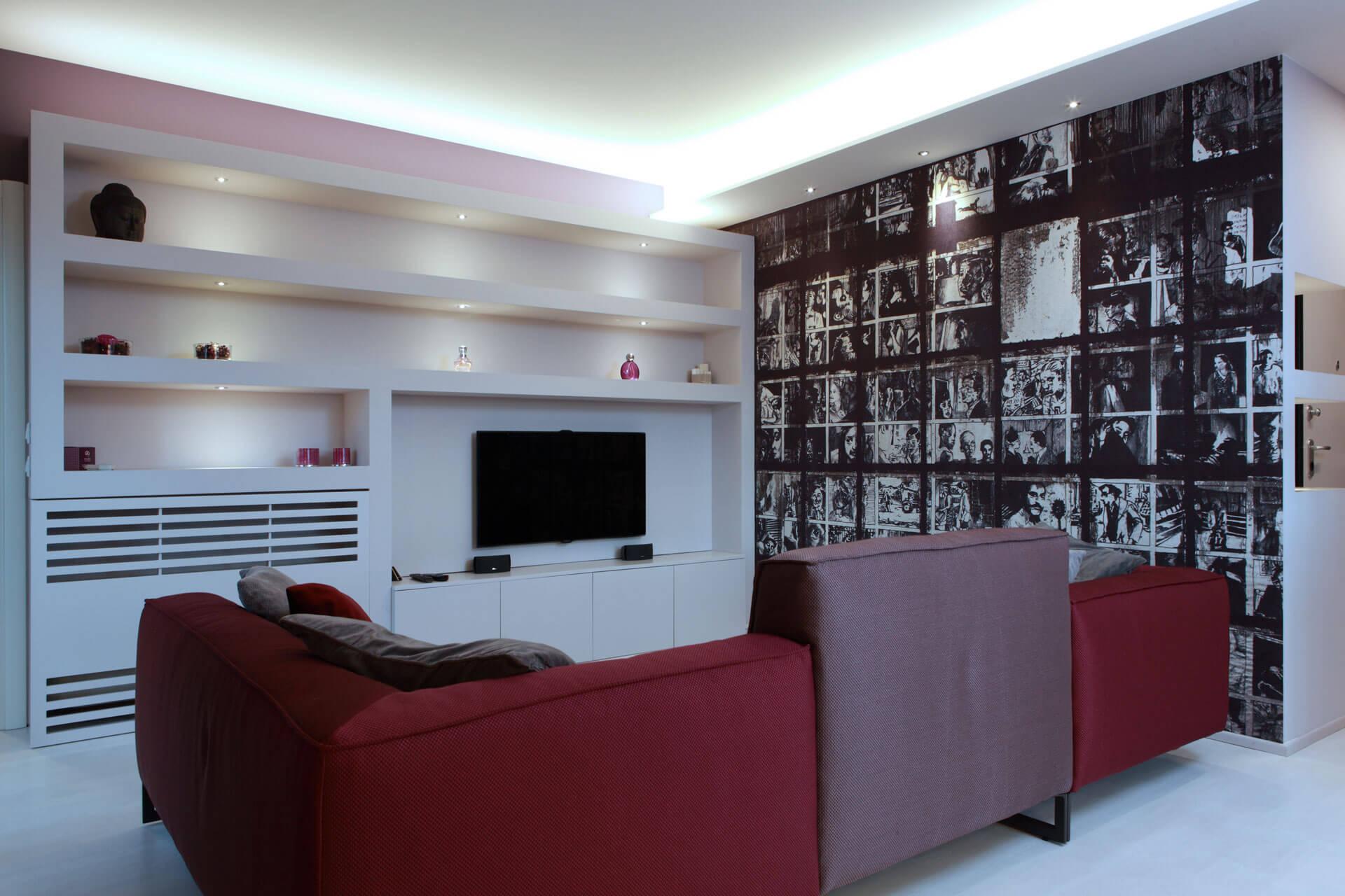 micaela mazzoni studio interior designer bologna - progetti abitativi - gallery - appartamento castel maggiore - le piazze